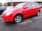 2005 Red Pontiac Vibe