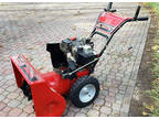 "Snow Blower 27"" Snow King with Tecumseh 8hp 4 cycle Engine"