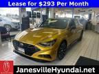 2020 Hyundai Sonata Yellow, 11 miles