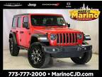 2018 Jeep Wrangler Unlimited Red, 29K miles