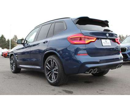 New 2020 BMW X3 M Sports Activity Vehicle is a Blue 2020 BMW X3 3.0si Car for Sale in Nashua NH