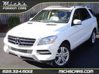 2014 WHITE ON TAN NAV MOONROOF DRIVER ASSIST MUST SEE Mercedes-Benz M-Class