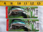 Cotton Cordell Jointed Wally Diver Lot of 2 Fishing Lures