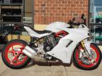 2018 Ducati SuperSport S White Silk S
