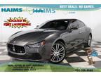2016 Grigio Maratea Metallescent Maserati Ghibli