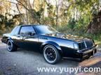 1986 Buick Grand National 3.8 Liter SFI Turbo V6