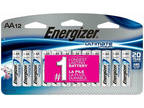 Energizer Ultimate Lithium AA Batteries 12 Pack