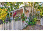 Key West 4 BR 3 BA, This Artist's home is nestled at the end