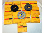 Lot of 32 8mm Film Reels from Kodak Vintage 1960s EMPTY 8 mm