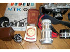 Nikon SP 35 mm Camera With Accessories/Manuals 6300665