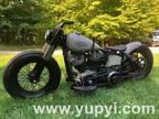1980 Harley-Davidson FLH Bobber Custom Bike