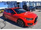 2020 Hyundai Veloster Red, new