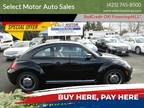 2015 Volkswagen Beetle 1.8T Classic PZEV 2dr Coupe 6A