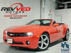 2011 Inferno Orange Metallic Chevrolet Camaro