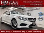 2016 Mercedes-Benz E-Class E 400 4MATIC Sport w/ Premium Pkg & Lane Tracking