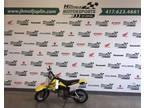 2019 Yellow Suzuki Dr-z50