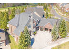 Prestigious Angus Glen! Custom Built Stone & Brick Estate Backing On To Golf