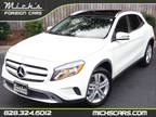 2015 WHITE ON BLACK PANO ROOF NAV BLIND SPOT SUPER CLEAN Mercedes-Benz GLA