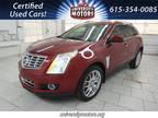 2014 Cadillac SRX Red, 98K miles