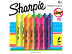 Sharpie Tank Style Highlighters, Chisel Tip