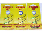 Northland Tackle 1/8 UV Whistler Jigs (Lot of 3-Glo