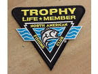 NAFC North American Fishing Club Trophy Life Member Patch