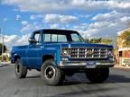 1978 Blue Chevrolet Cheyenne Pickup
