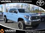 2020 Toyota Tundra Blue