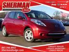 2012 Nissan Leaf Red, 18K miles