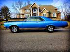 1967 Blue Pontiac GTO