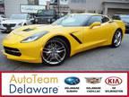 2014 Chevrolet Corvette Stingray Yellow, 14K miles