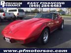 1975 Red Chevrolet CORVETTE