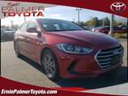 2018 Red Hyundai Elantra