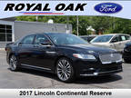 2017 Lincoln Continental, 25K miles