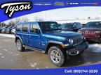 2020 Jeep Wrangler Unlimited Blue, new