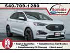 2020 Ford Edge White, new