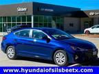 2020 Hyundai Elantra Blue, new
