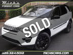 2017 WHITE ON TAN GLASS ROOF NAV BACKUP CAM BLUETOOTH LOADED Land Rover