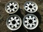 13 '' 4 x 140mm Wheels -