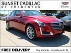 2018 Cadillac CTS 3.6L Luxury 3.6L Luxury 4dr Sedan