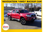 2014 Red Toyota Tacoma