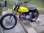 1972 Harley-Davidson Sprint SX 350 cc in original Unmolested