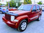 2012 Jeep Liberty Limited Edition Sport Utility 4D SUV
