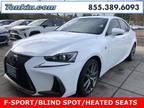 2017 Lexus IS 200t White, 26K miles