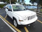 2012 Bright White Jeep Patriot