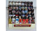 Budweiser Bud Light Cigarette Lighters Lot of 40
