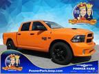 2019 RAM 1500 Orange, 52 miles