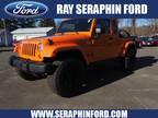 2012 Jeep Wrangler Unlimited Orange, 31K miles
