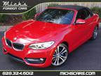 2016 RED ON BLACK SPORT PKG PREM PKG LOADED MUST SEE BMW 2 Series