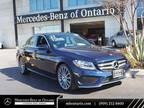 2017 Mercedes-Benz C Class Blue, 24K miles